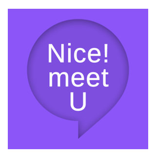 Nice!meetUアプリのアイコン