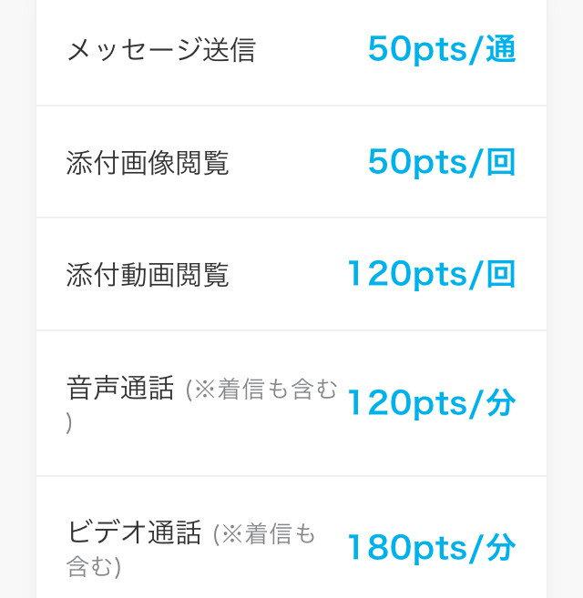 Again(アゲイン)アプリの料金表