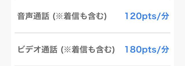 Kyuun(キューン)アプリの料金2
