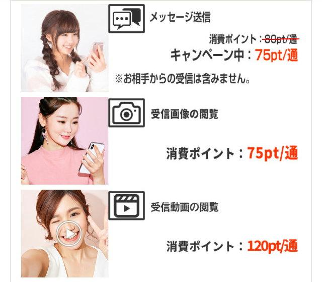 ビデオ通話アプリ大人関係の料金1