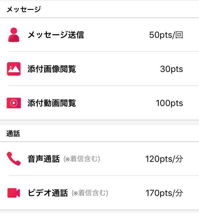 Embi(艶美)のアプリ評価~料金設定